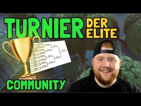 COMMUNITY TURNIER DER ELITE | Fortnite Battle Royale