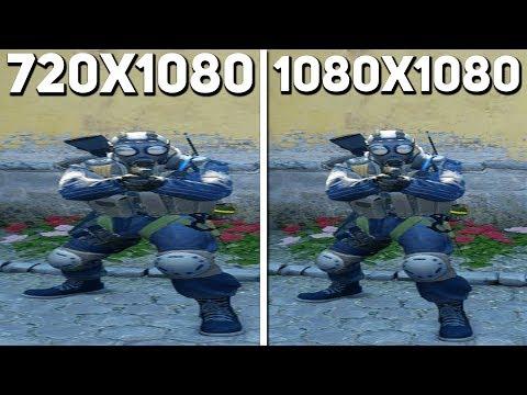 720X1080 VS 1080X1080 — БИТВА РАЗРЕШЕНИЙ В CS:GO