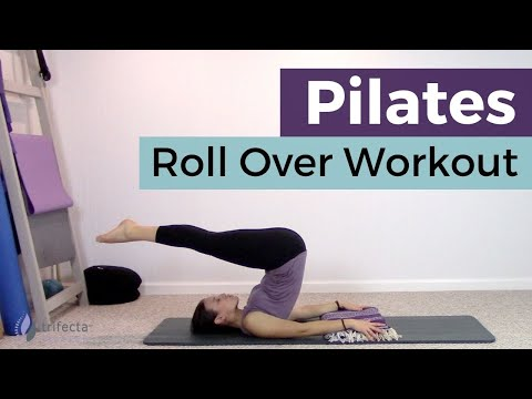 Pilates Roll Over Workout