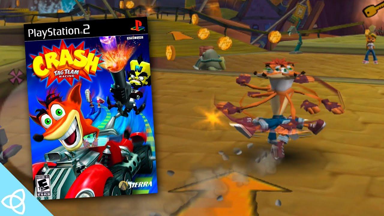 Crash Tag Team Racing (GameCube Gameplay) | Forgotten games # 63 - YouTube