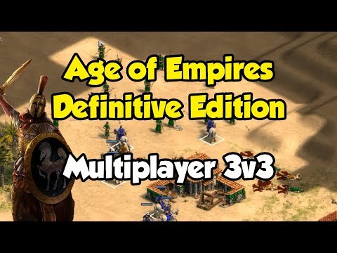 Age of Empires: Definitive Edition gameplay MP 3v3