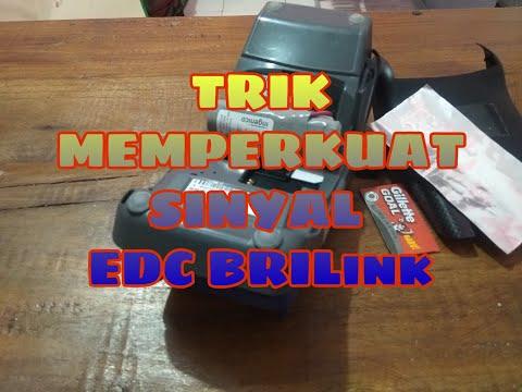Resah Edc BRILink kalian susah mendapatkan sinyal, ini cara memperkuat sinyal EDC Menggunakan silet.