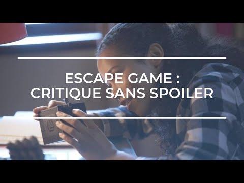 ESCAPE GAME De Adam Robitel (Critique #10)