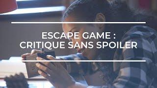 ESCAPE GAME De Adam Robitel (Critique #10) Film Thriller Psychologique