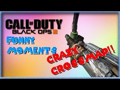Black Ops 3 Funny Moments: Crossmap Combat Axe, Funny Killcam!