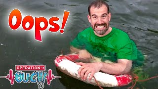 Splashy Swimming First Aid! ♂   Science for Kids   Operation Ouch