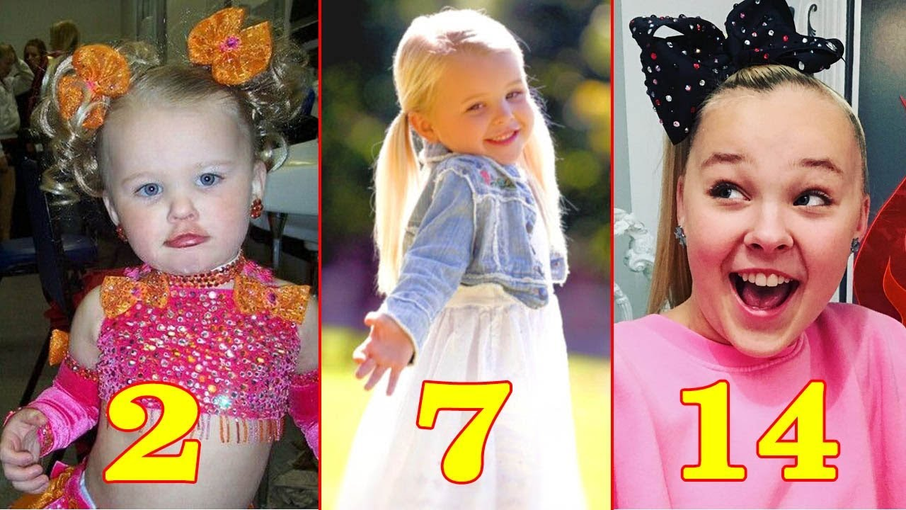 d4eb3bd770 JoJo Siwa ❀ Transformation From 1 to 14 Years Old - Star News - YouTube