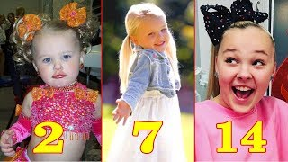 JoJo Siwa ❀  Transformation From 1 to 14 Years Old - Star News
