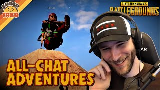 All-Chat Can Be a Great Thing ft. halifax - chocoTaco PUBG Duos Gameplay