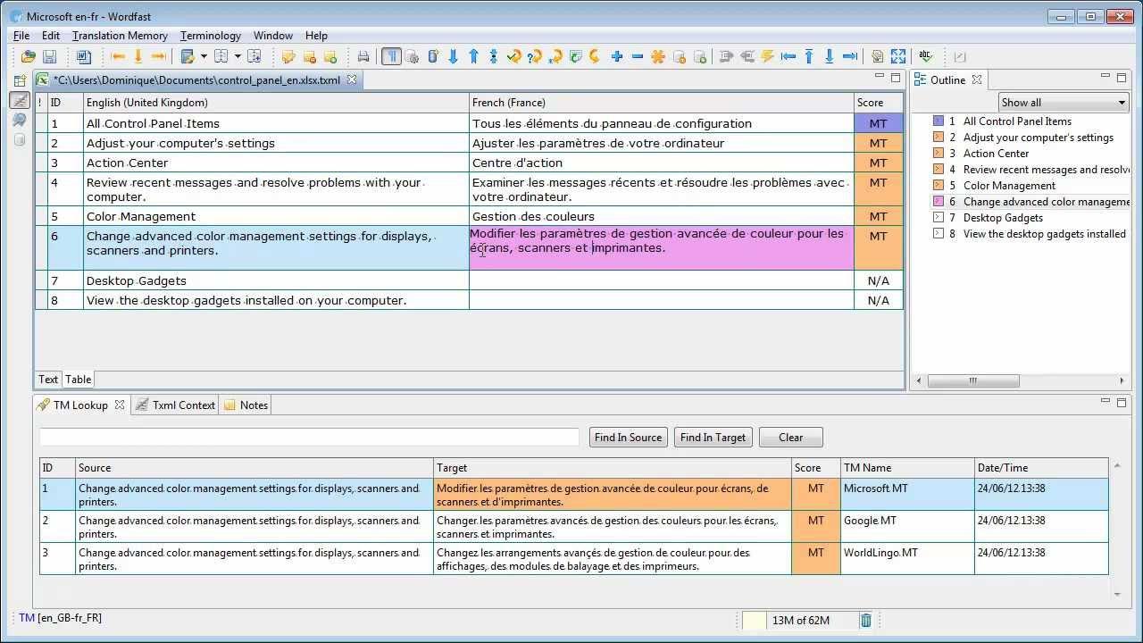 wordfast pro 3.0
