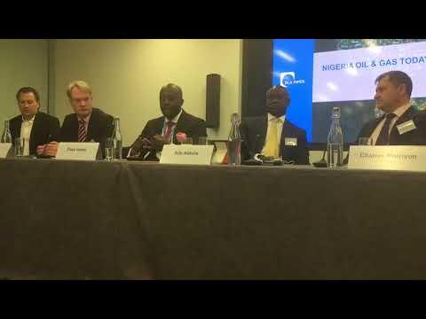 Dayo Idowu Partner at OOLLP at Africa Week  Oil and Gas Panel 2  One Regulatory Body