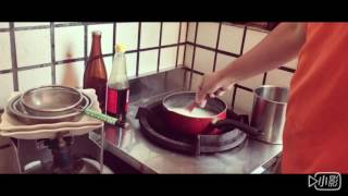 露營時超簡單煮白飯的方法!