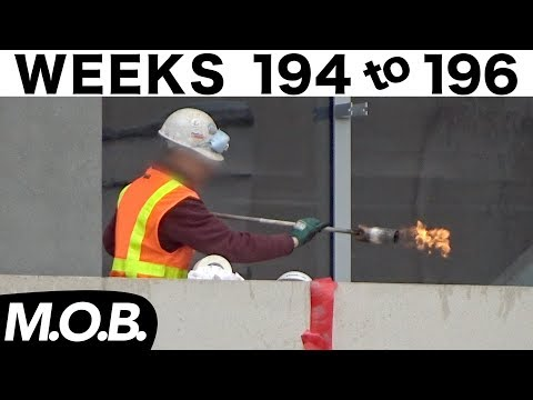 3-week construction time-lapse: Weeks 194-196 (Medical Office Building edition)