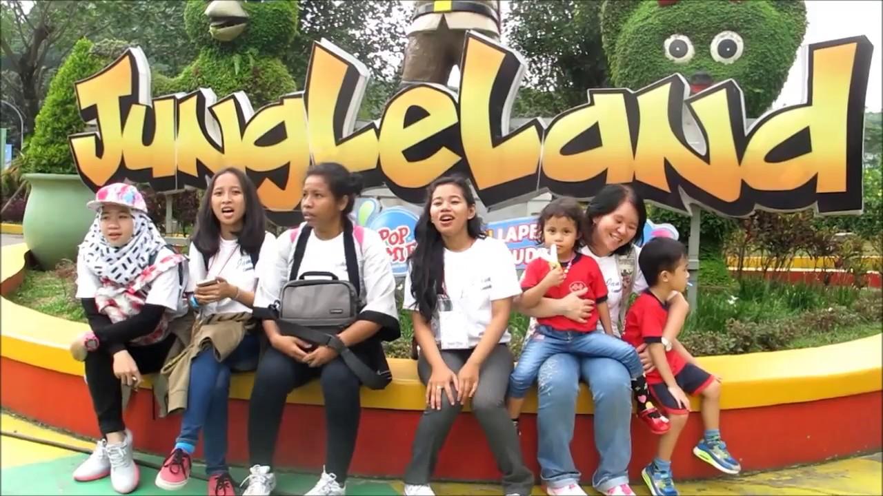 Murid Tk Pakuan Wisata Sekolah Di Wahana Jungle Land Sentul Bogor Tiket
