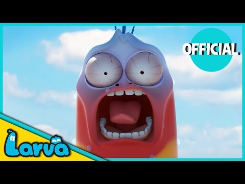 LARVA - NEW YEARS EVE IN NEW YORK | 2016 Full Movie Cartoon | Cartoons For Children | LARVA Official