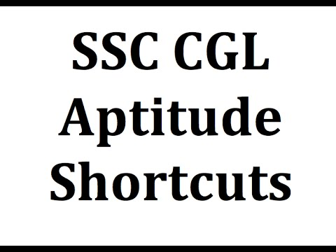 Aptitude test questions and answers with solutions - SSC CGL CHSL IBPS PO CLERK BANK
