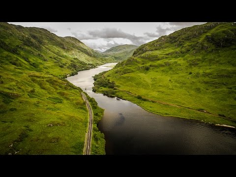 Aerial Travel Scotland/Isle of Skye Landscapes 2015 4k UHD D