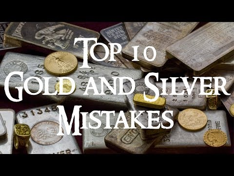 Top 10 Gold and Silver Stacking Mistakes New Stackers Make