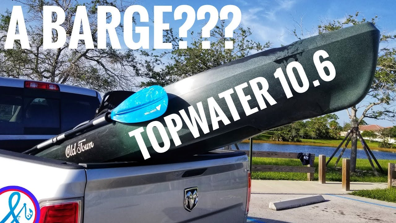 Old Town Topwater 106 on the Water Demo icast 2018
