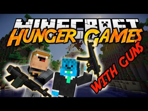 Minecraft: HUNGER GAMES WITH GUNS! (ft. MarkoKOFS)