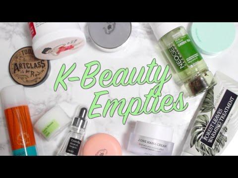 Korean Beauty Empties from Neogen, Cosrx, and MORE!