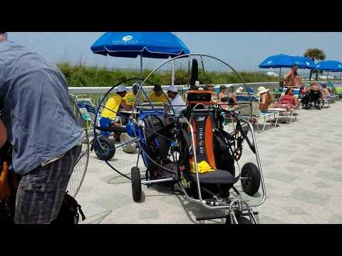 Beach Blast 2017 Paramotor Show
