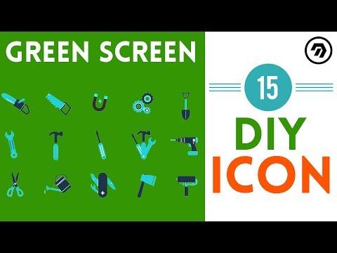 15 Green Screen DIY Icon | mrstheboss