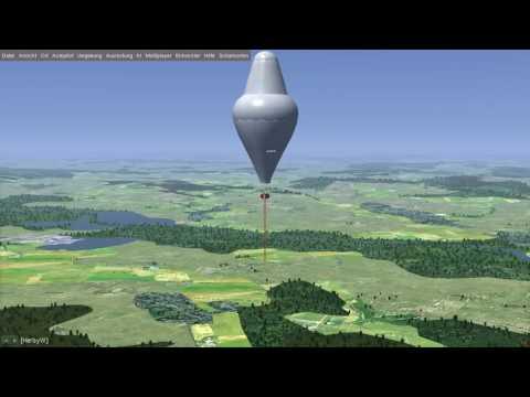 FlightGear Scharmorton Roziere Balloon