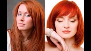 видео Медно коричневый цвет волос: краски, фото