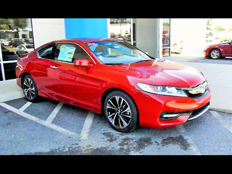 2016 honda accord ex coupe start up review and full tour youtube. Black Bedroom Furniture Sets. Home Design Ideas