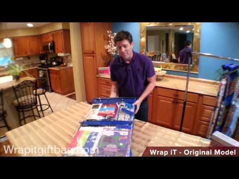 Wrapping Paper Storage Organizer With Wrap iT Original