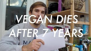 Man dies after 7 years of being vegan ~ blood test results!