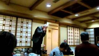 2011年4月5日(火)、東京から合唱団白樺のお客様をお迎えしての...