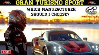 GT Sport - Which Manufacturer should I choose?