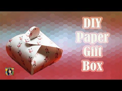 DIY Gift Box || Easy Gift Idea || Easy Paper Gift Box || Handmade