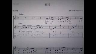 テレビドラマ 「やすらぎの郷」主題歌 中島みゆきさんの 「慕情」をギタ...