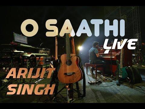 O Saathi - Live   Full Song   Arijit Singh   Shab   Mumbai   MMRDA   BKC
