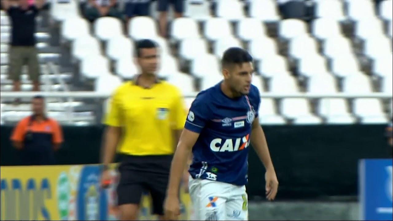 b8f91828fe Botafogo x Santos - Campeonato Brasileiro 2018 (Yuri Alberto perde gol  dentro da pequena área)