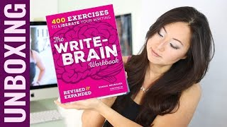 UNBOXING Write Brain Workbook By Bonnie Neubauer FlipThru Writing Prompts Workbook For Writers