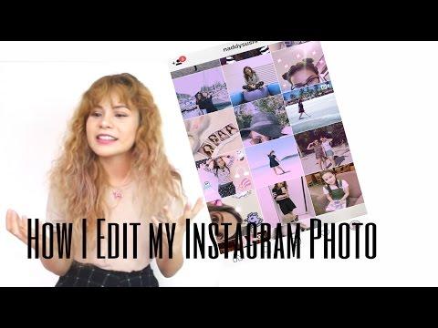 How I Edit My Instagram Photos| Naddy Sushi