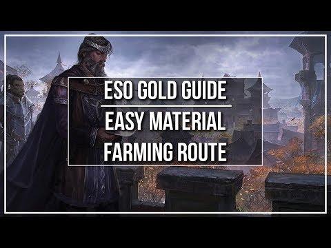 Eso Gold Mat Farming