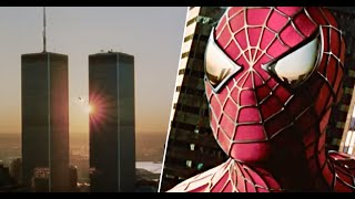 Spider-Man (2002) (Twin Tower Teaser) 35mm 4K (REMASTERED)