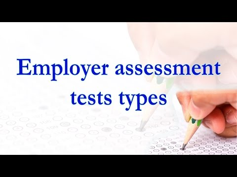 Employer Assessment Tests Types 📋