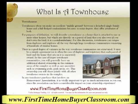 What Is A Townhousemp4