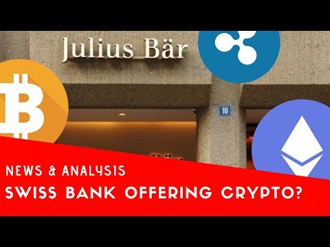 Swiss Bank To Offer Crypto? | Cryptocurrency News