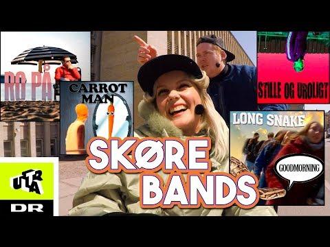 Mette og Jannik finder på skøre bandnavne | Cykel Karaoke | Ultra
