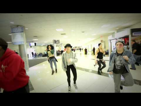 Justin Bieber Dancers .. Your Flight Is Cancelled !