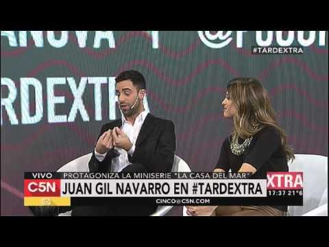 C5N – Tarde Xtra: entrevista a Juan Gil Navarro
