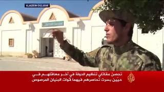 تحصن مقاتلي تنظيم الدولة بآخر معاقلهم في سرت
