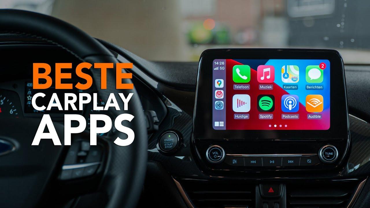 Apple CarPlay: de 6 beste apps voor onderweg